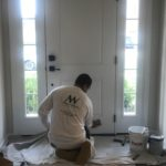 Manor Works interior door painting