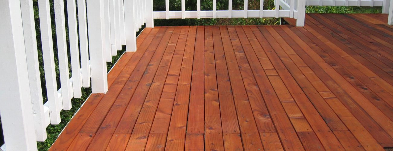 What Is The Best Kind Of Product To Protect My Deck Manor Works